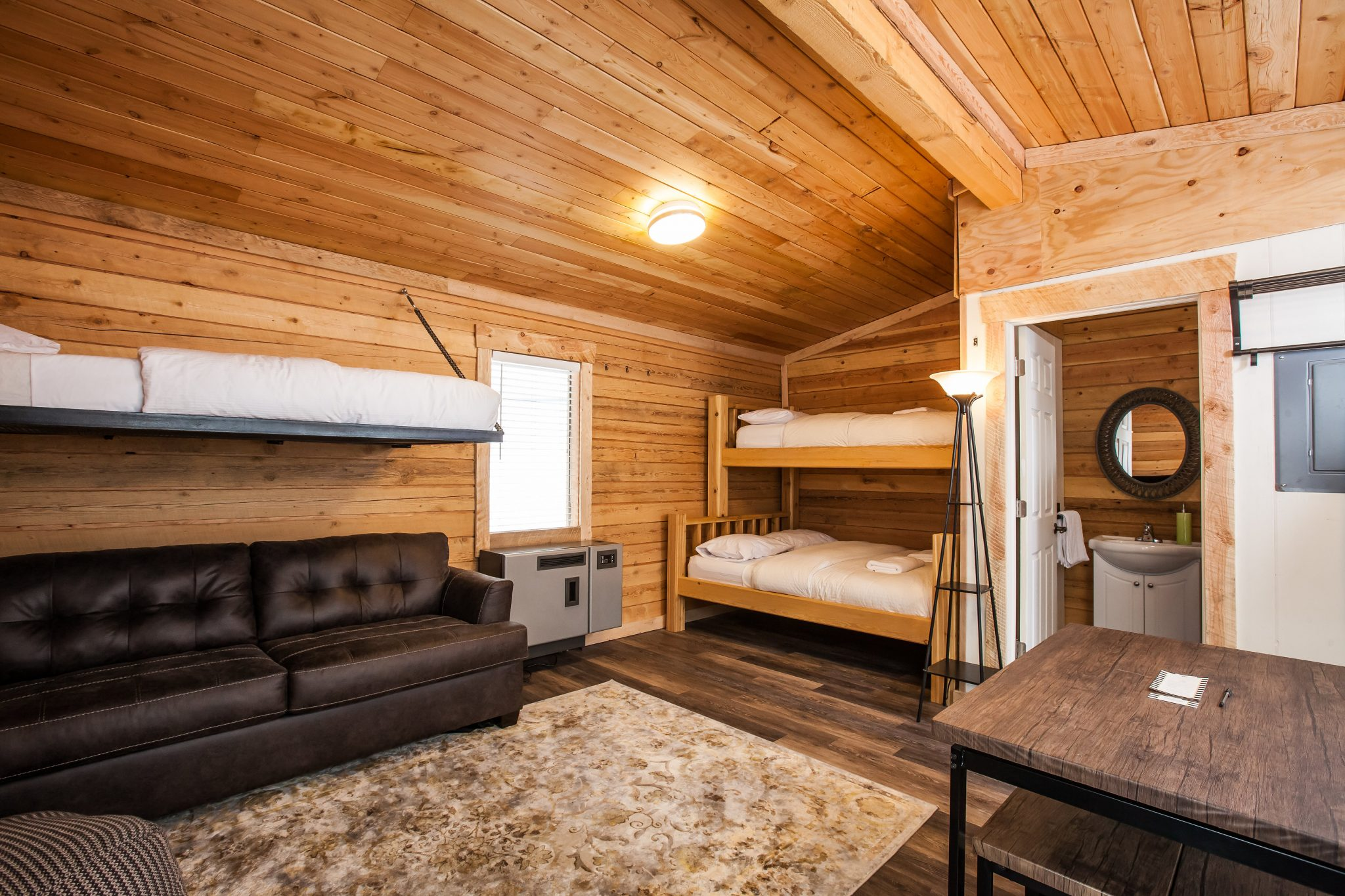 Log Cabin Vacation Rentals Base Camp Guest House